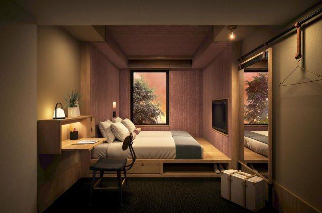 情報や空間をシェアするラウンジがある一方、お部屋に入ればパーソナルな空間も充実させることができる
