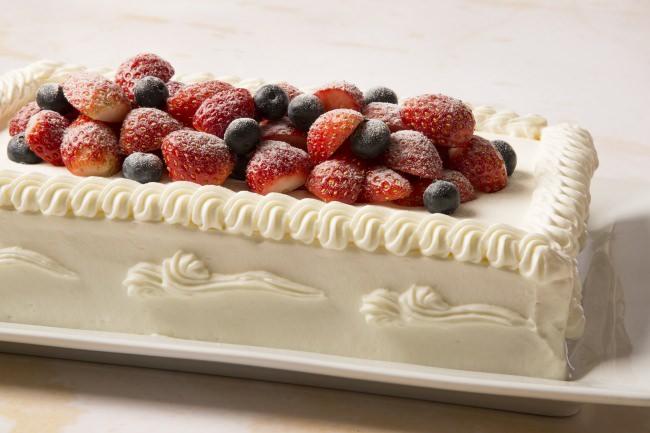 口どけにこだわった北海道産生クリームが自慢のショートケーキ(イメージ)