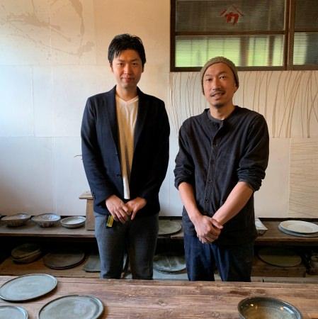 川口武亮さんと小澤敬