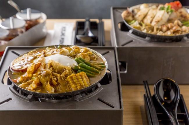 臭豆腐のスパイスが効く、看板メニュー「ハウススペシャル鍋」はおススメ