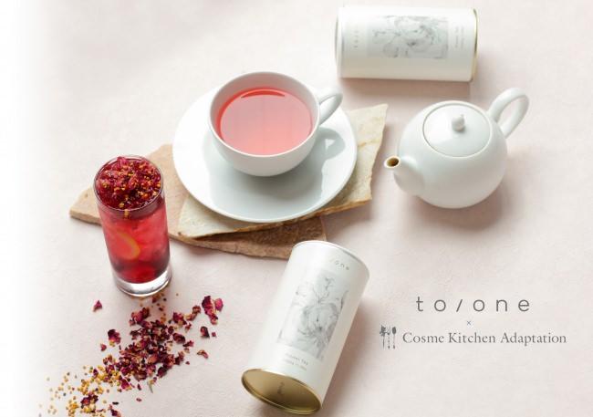 【Cosme Kitchen Adaptation】メイクアップブランド「to/one(トーン)」2020年春夏コレクションの発売を記念したスペシャルコラボレーションドリンクを発売!