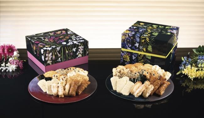伝えたい気持ちを花のパッケージで包んで届ける米菓の贈り物 2020年の新シリーズ『花のル・コリ』発売