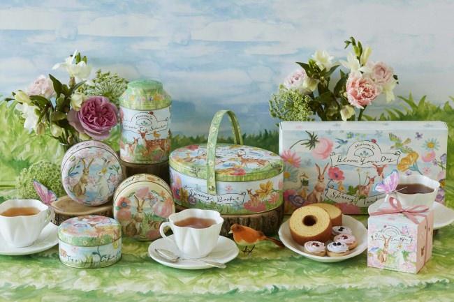 【Afternoon Tea】桜の花びらをちりばめたフレーバーティーや桜と抹茶のフィナンシェなど<春のギフト>が登場!ホワイトデーにおすすめ