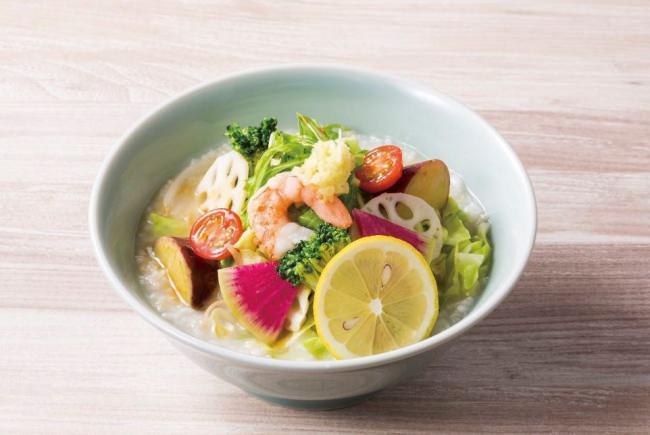 8種野菜のベジかゆ(おかゆと麺のお店 粥餐庁)