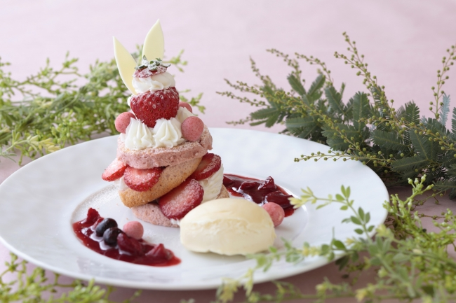BerryRabbbitのシフォンケーキ