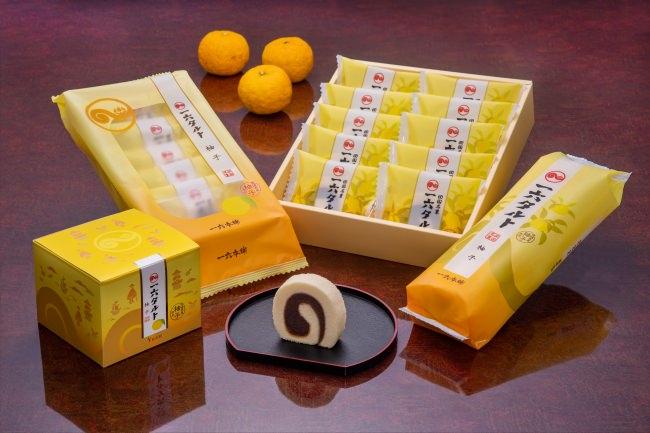 一六タルト パッケージリニューアル ①賞味期限伸長による食品ロス削減 ②包材資材質量の削減