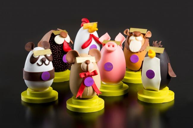 毎年自由な発想で動物を模したエッグをデザイン(写真はイメージです)