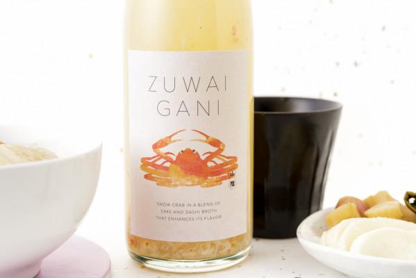誰も飲んだことのない?! ホット専用海鮮系リキュール「ZUWAIGANI」新発売! ~酔って食べて二度おいしい!飲んだあとの〆にはズワイガニの雑炊ができる~