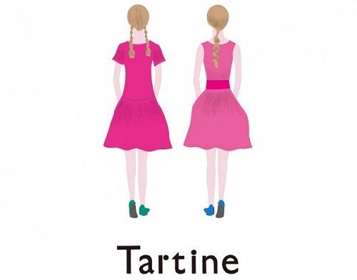 """まるで絵本の中から飛び出してきたような""""タルティン姉妹""""。そんなタルティン姉妹やくまの""""ニコル""""が四季折々の世界を創ります。京都高島屋に初登場!"""