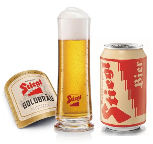 モーツァルトが愛したビールブランド 『Stiegl(シュティーグル)』が 日本オリジナルの「ゴールドブロイ330ml缶」をリリース