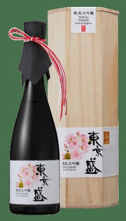 「東京盛」復活第2弾!桐箱入りの純米大吟醸を数量限定で発売!