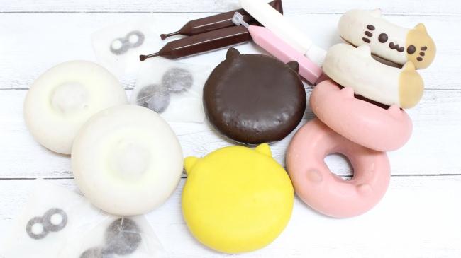 ステイホーム応援!人気のどうぶつドーナツを自宅で楽しく作れる「イクミママのお絵かきドーナツセット」を販売開始
