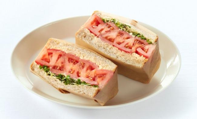 「サラダサンド」でしっかり野菜を取ろう!!