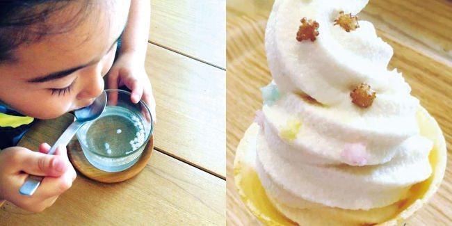 炭酸に入れると、シュワシュワして楽しい。アイスクリームやヨーグルト、生クリームなどのトッピングにもおすすめ。シリアルやコーンフレークに混ぜてもOK。