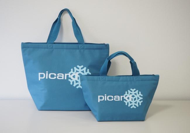 """【冷凍食品専門店Picard】""""新エコバック""""が登場!~プラスチック製買物袋有料化を目前に、保冷機能とサイズ展開を備えて新発売~"""