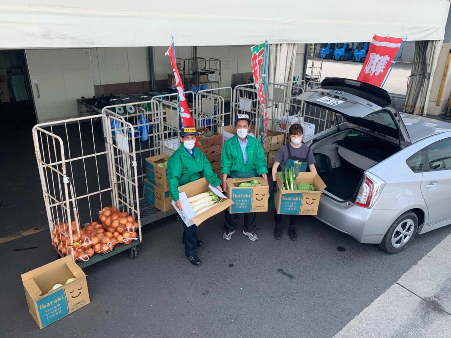 千葉県の青果店「大塚青果」がドライブスルー方式による 野菜・果物の販売イベント「ドライブスルー八百屋」を6月開催!