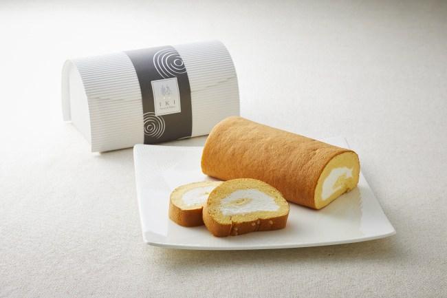 【ロイヤルパークホテル】6/6はロールケーキの日!2つのクリームとふわふわ生地の「ロールケーキ 粋」を新発売。