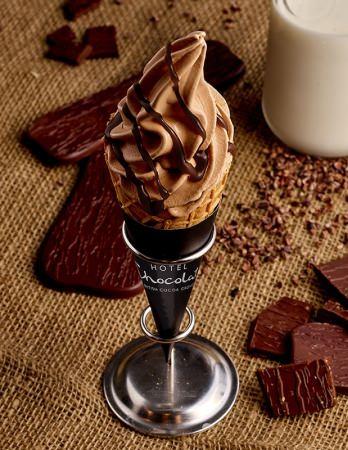 英国のカカオブランド「ホテルショコラ」『スーパーミルクチョコレートアイスクリーム』、日本先行新発売!!