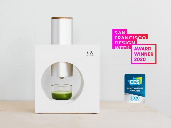碾きたて抹茶を自宅で簡単に楽しめる「Cuzen Matcha」が、サンフランシスコ デザインウィーク2020にて「Future of Foods」賞を受賞