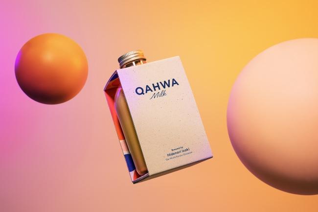 心と身体を、しあわせな異世界へ。ワールドバリスタチャンピオンが挑む究極の休息飲料『QAHWA MILK』