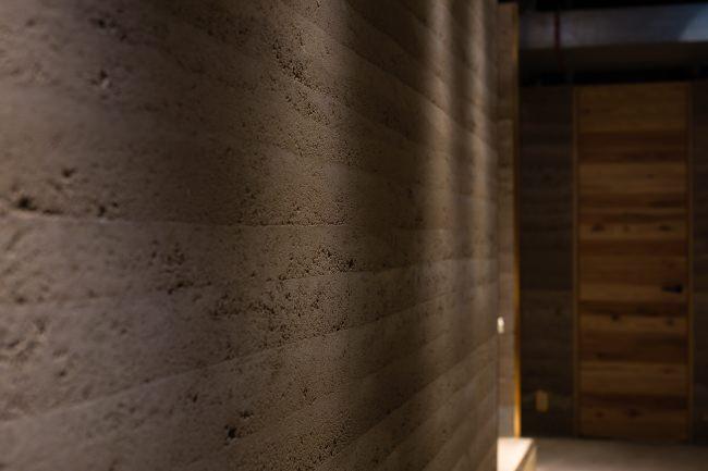聚楽土を使った土壁