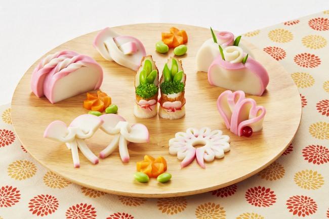 蒲鉾の飾り切りで、食卓が一層かわいらしく!
