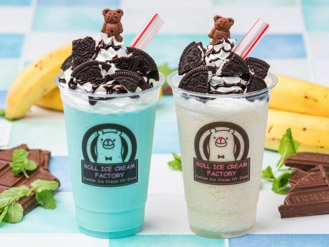 この夏熱いぞ!バナナ!原宿発・行列のできるロールアイスクリーム専門店が、バナナやチョコミントをたっぷり使ったひんやりスムージー2種を発売