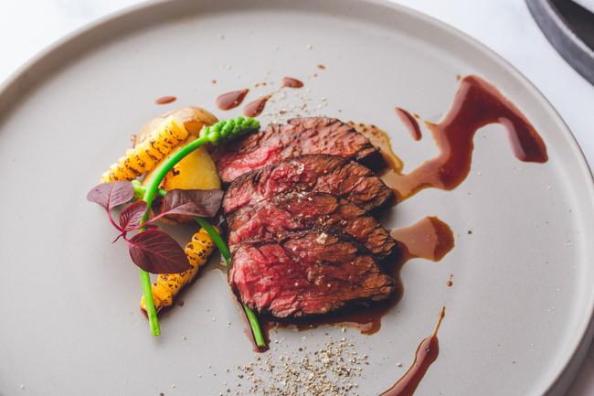 肉料理(USプライムビーフのロティ)