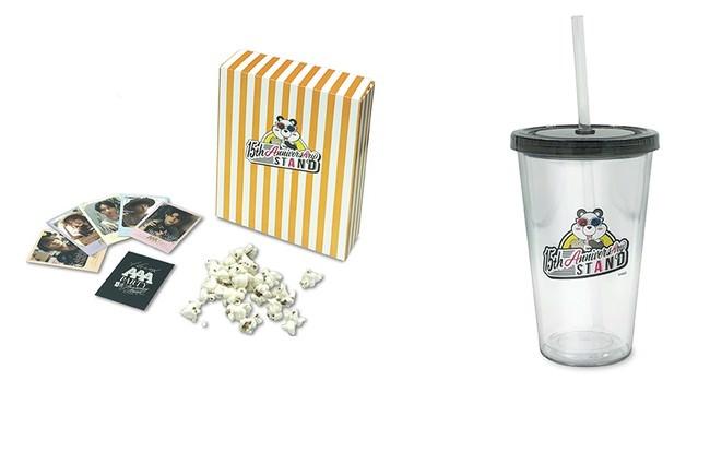 ポップコーン(ビジュアルカード付き、全5種)、ストロータンブラー