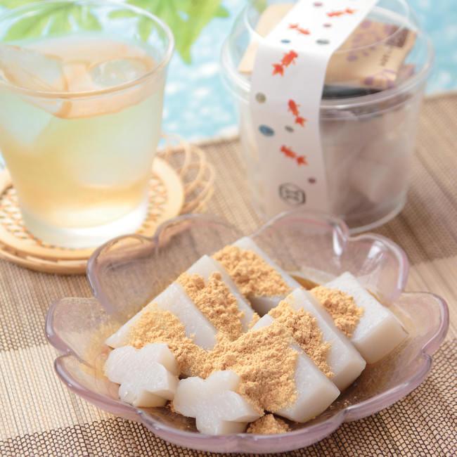 日本橋の夏といえば金魚!「金魚カップくず餅」をコレド室町店限定で販売いたします。