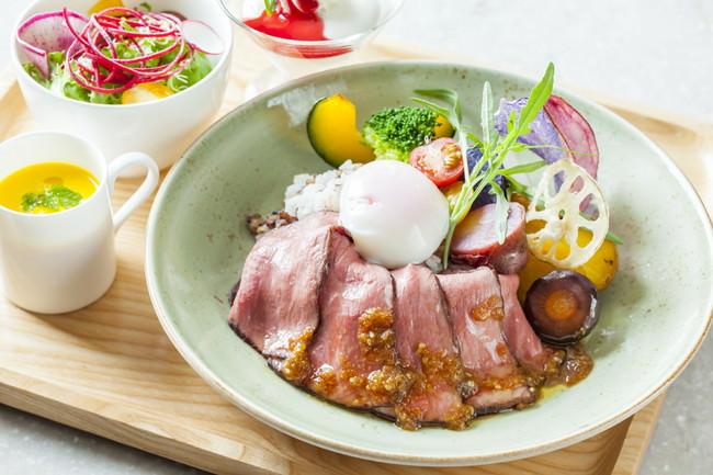 熊本県産あか牛のローストビーフ丼