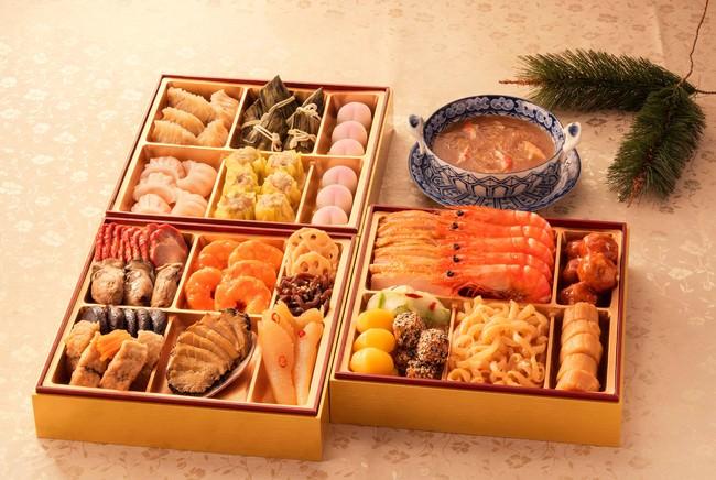 """ご自宅で楽しむお正月、""""中華料理のフルコース""""おせちでご家族に口福を。「謝朋殿 新春銘菜 中華おせち料理」の予約販売を開始"""