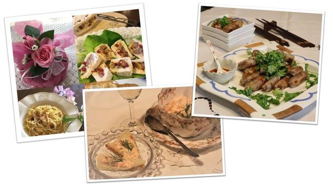 「私の料理で巡る世界の旅」イメージ
