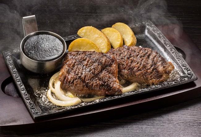 《単品》牛ハラミペッパーステーキ(約200g)