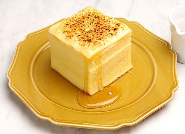 台湾カステラデコケーキ ブリュレチーズ ¥580