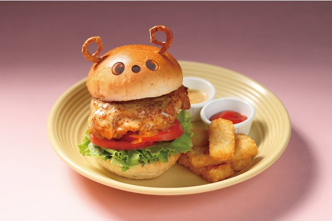 LOVOTハニーマスタードチキンバーガー 2,750円(税込)