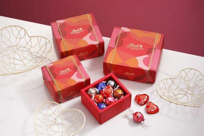 【1月8日〜】スイス発チョコレート『リンツ』から 「バレンタインコレクション」が登場