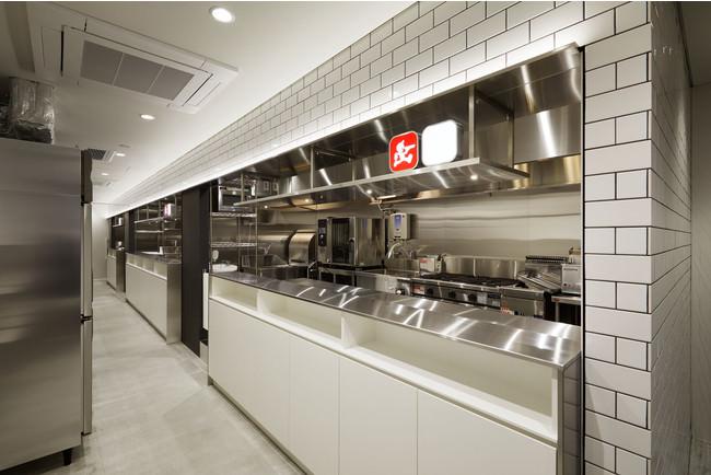 施設2F:クラウドキッチンスペース