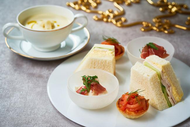 冬の味覚を演出するフレンチレストランで 作られる本格セイボリー