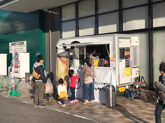 現役女子高生が将来を見据えキッチンカーでwithコロナ時代に独立『神戸バタークレープ専門店 ヒステリックジャム』