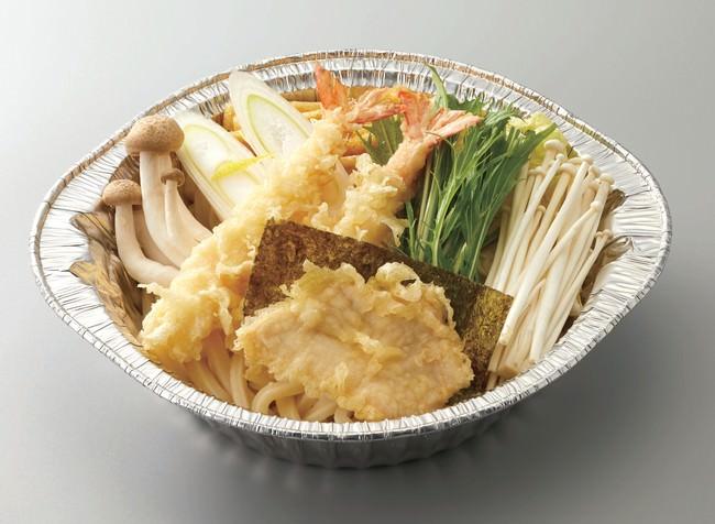 ■海老・鶏天 鍋焼きうどん 特別価格 698円(+税)