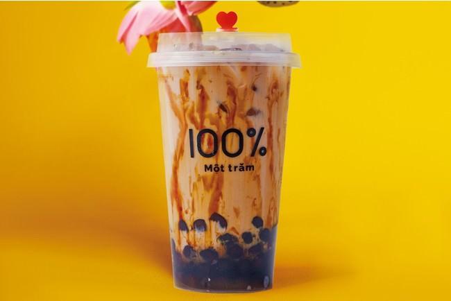 台湾黒糖タピオカミルク