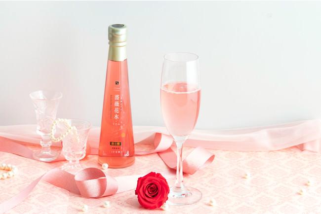 【母の日BOX】プリザーブドフラワー(薔薇)と飲む酢詰合せ