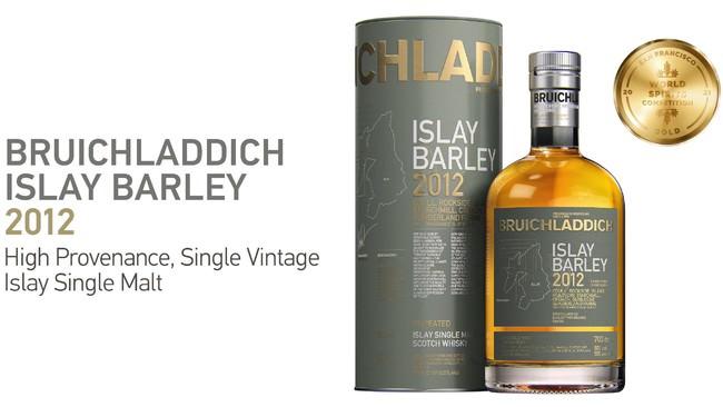 シングルモルト・スコッチウイスキー「ブルックラディ アイラ・バーレイ2012」数量限定発売のご案内