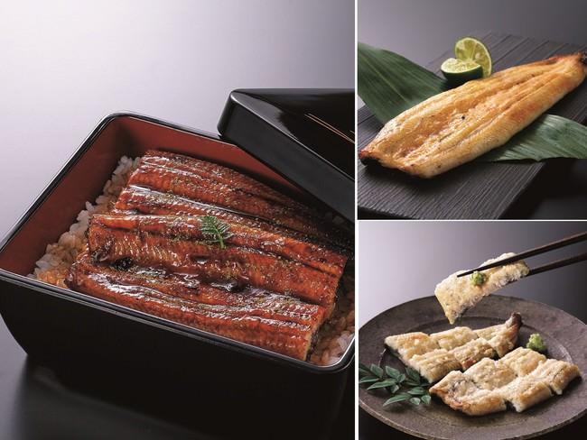 左:蒲焼 右上:西京焼き 右下:塩麹焼き