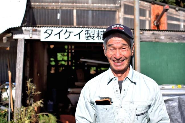 タイケイ製糖 代表:中田 米城(撮影:Amamian Graffiti)