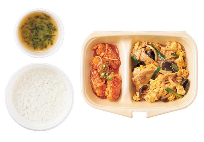 [テイクアウト]木須肉と鶏チリ 890円(税込)