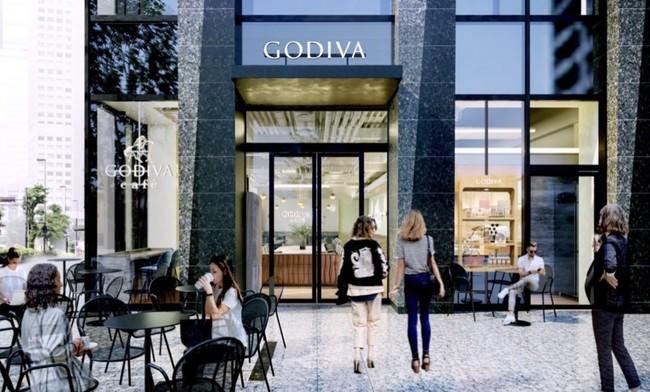 ゴディバの新業態「ゴディバカフェ」の5号店が日本橋に「GODIVA café Nihonbashi」9月24日(金)グランドオープン