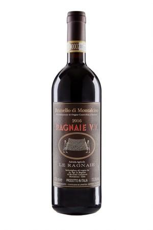 ■『ブルネッロ・ディ・モンタルチーノ  ヴェッキエ・ヴィニェ』  トップキュヴェのひとつ。イタリアの著名なワイン評価誌「カンベロ・ロッソ」で最高評価を2010年以降4年連続で獲得しています。