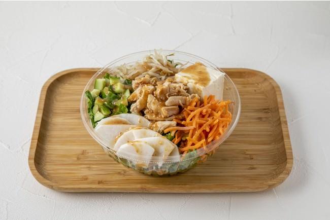 特製たれの棒棒鶏サラダ(1,000円~1,250円)